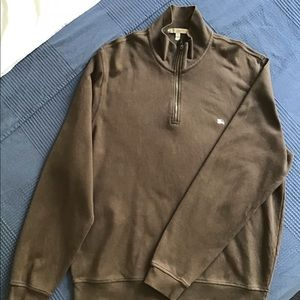Burberry Half Zip Sweatshirt (Authentic)
